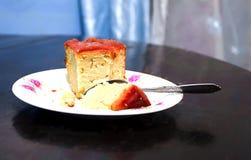 Torta clásica malgache con la harina de la mandioca foto de archivo libre de regalías