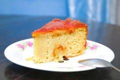 Torta clásica malgache con la harina de la mandioca Imagenes de archivo