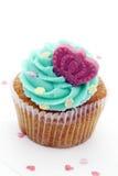 Torta colorida de la taza Fotografía de archivo