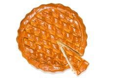 Torta com alperces secados Fotografia de Stock