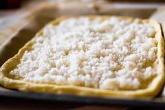 Torta com arroz Imagens de Stock Royalty Free