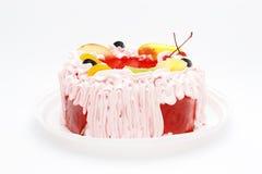 Torta com fruta Foto de Stock Royalty Free