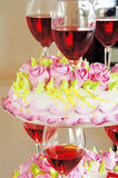 Torta comemorativo Fotos de Stock