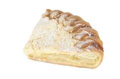 Torta con el relleno del limón Foto de archivo libre de regalías