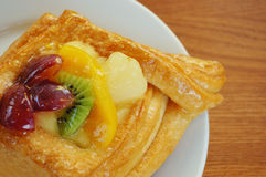 Torta con la frutta e la gelatina Immagini Stock