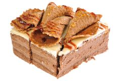 torta con la galleta Fotos de archivo