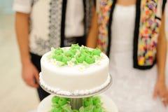 Torta con las manzanas Fotografía de archivo libre de regalías