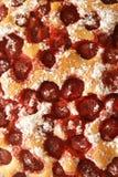 Torta con le fragole Fotografie Stock Libere da Diritti