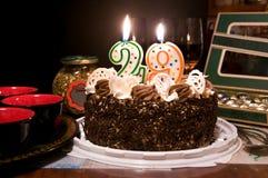 Torta congratulatoria fotos de archivo libres de regalías