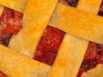Torta cozida fresca da Três-Baga Fotografia de Stock Royalty Free