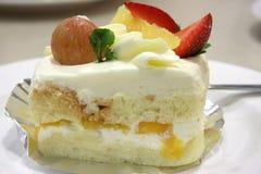 Torta crema Fotografia Stock