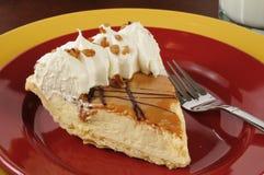 Torta crema di Dulce de Leche Fotografia Stock