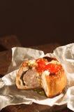 Torta in crosta di carne di maiale Fotografia Stock Libera da Diritti