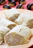 Torta da castanha doce Fotos de Stock
