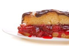 Torta da cereja Imagens de Stock