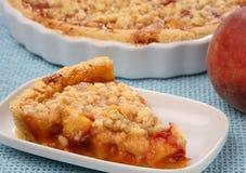 Torta da fruta do pêssego Imagem de Stock Royalty Free