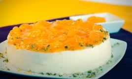 Torta da sobremesa do bolo Imagens de Stock