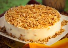 Torta da sobremesa do bolo Fotografia de Stock