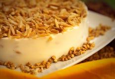 Torta da sobremesa do bolo Foto de Stock Royalty Free