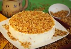 Torta da sobremesa do bolo Imagem de Stock Royalty Free