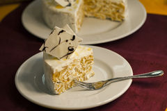 Torta da sobremesa do bolo Fotos de Stock Royalty Free