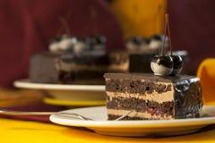 Torta da sobremesa do bolo Fotografia de Stock Royalty Free