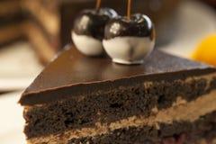 Torta da sobremesa do bolo Fotos de Stock