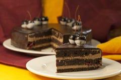 Torta da sobremesa do bolo Imagens de Stock Royalty Free