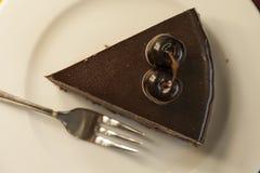 Torta da sobremesa do bolo Foto de Stock