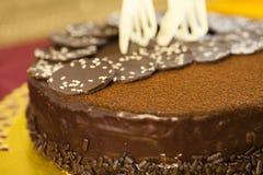 Torta da sobremesa do bolo Imagem de Stock