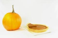 Torta de abóbora. Fotografia de Stock