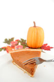 Torta de abóbora Imagem de Stock Royalty Free