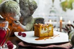 Torta de abóbora Fotografia de Stock Royalty Free