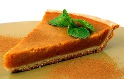 Torta de abóbora da colheita Fotografia de Stock Royalty Free