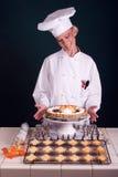 Torta de abóbora do bordo Fotografia de Stock Royalty Free