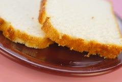 Torta de alimento de ángel imágenes de archivo libres de regalías