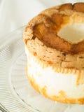 Torta de alimento de ángel Imagen de archivo libre de regalías