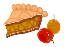 Torta de Apple ilustração do vetor