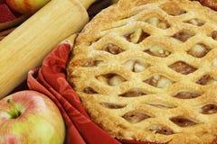 Torta de Apple Imagem de Stock Royalty Free