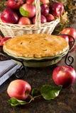 Torta de Apple Imagens de Stock