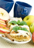 Torta de Apple Imagens de Stock Royalty Free