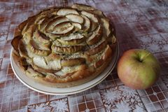 Torta de Apple Fotos de Stock Royalty Free