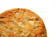 Torta de Apple apenas do forno Foto de Stock