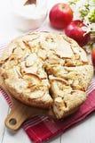 Torta de Apple, charlotte Foto de Stock Royalty Free