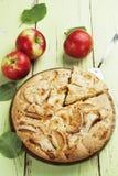 Torta de Apple charlotte Foto de Stock