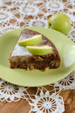 Torta de Apple com canela Foto de Stock