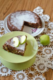 Torta de Apple com canela Imagem de Stock Royalty Free
