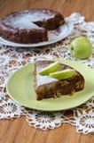 Torta de Apple com canela Imagens de Stock