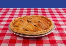 Torta de Apple fresca Fotografia de Stock Royalty Free