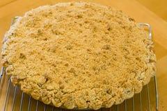 Torta de Apple na cremalheira Imagem de Stock Royalty Free